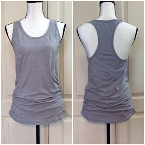 Athleta Spotlight Heather Athletic Tank Top Medium